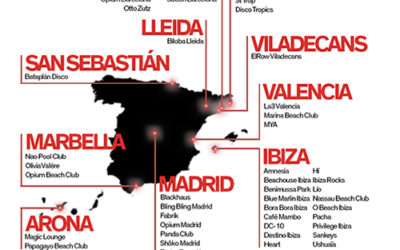 """España y Estados Unidos aportan 51 locales cada uno a entrar en la lista de """"The World's 100 Best Clubs"""" 2019"""