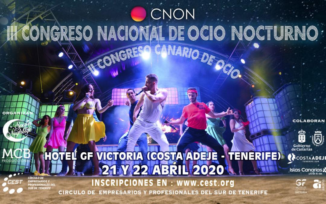 Spain Nightlife presenta, en Fitur, el III Congreso Nacional de Ocio Nocturno y el II Congreso Canario de Ocio.