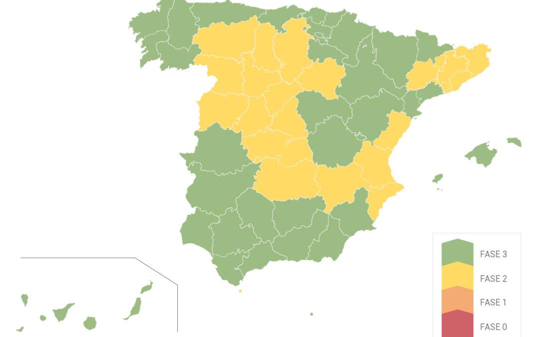 Radiografía actualizada del estado de reapertura de discotecas en España