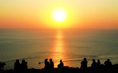 Cuando el sol se esconde en Ibiza